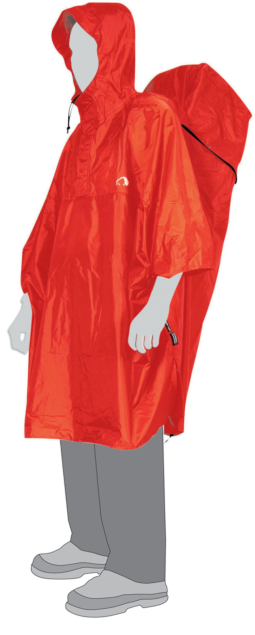 Pončo Tatonka Cape Men S (red)