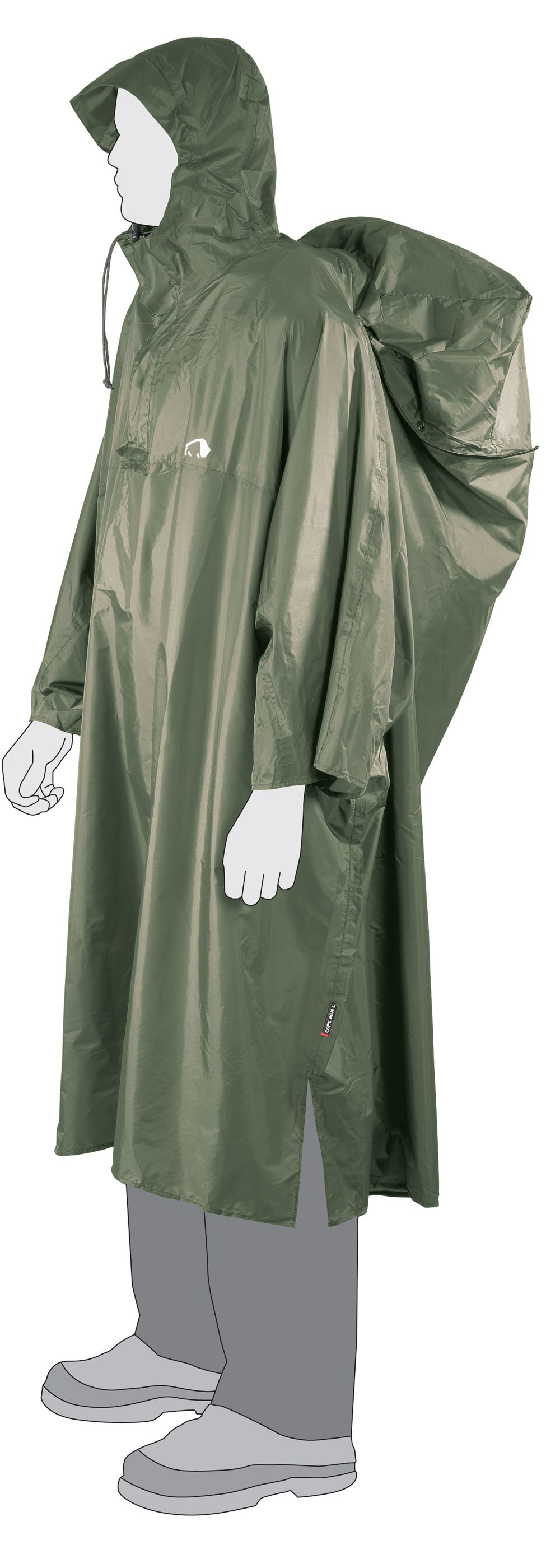 Pončo Tatonka Cape Men XL (cub)
