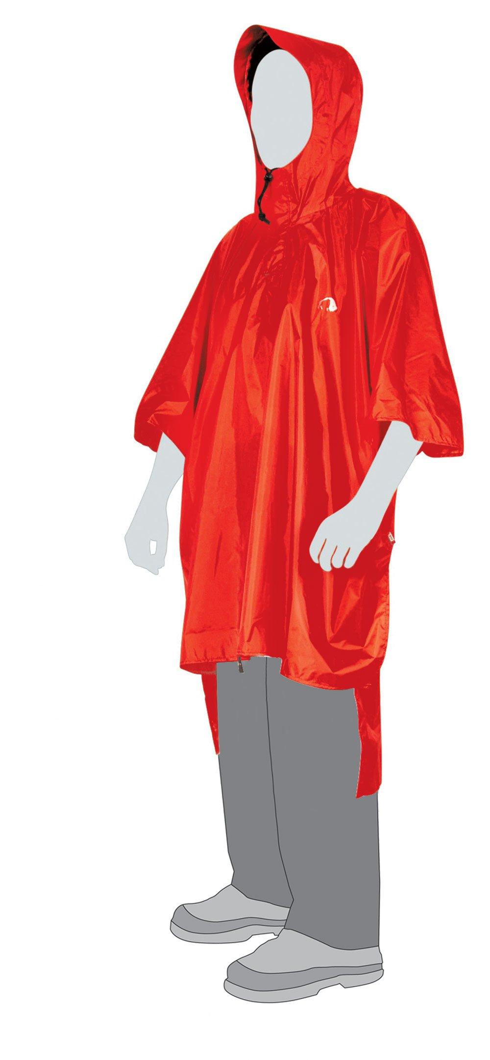 Pončo Tatonka Poncho 2 M/L (red)