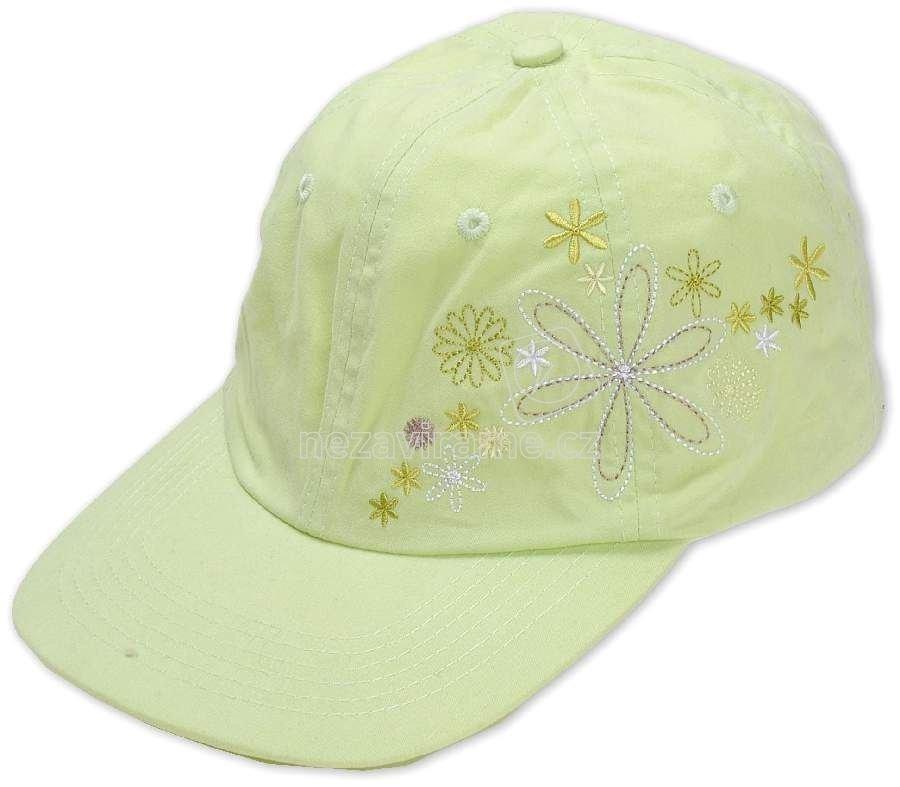 Dětská čepice Hannah Miu lime
