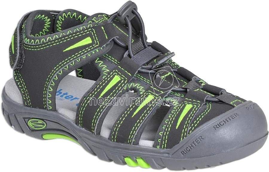 Dětské letní boty Richter 8201.141.6611 79c29b1e92