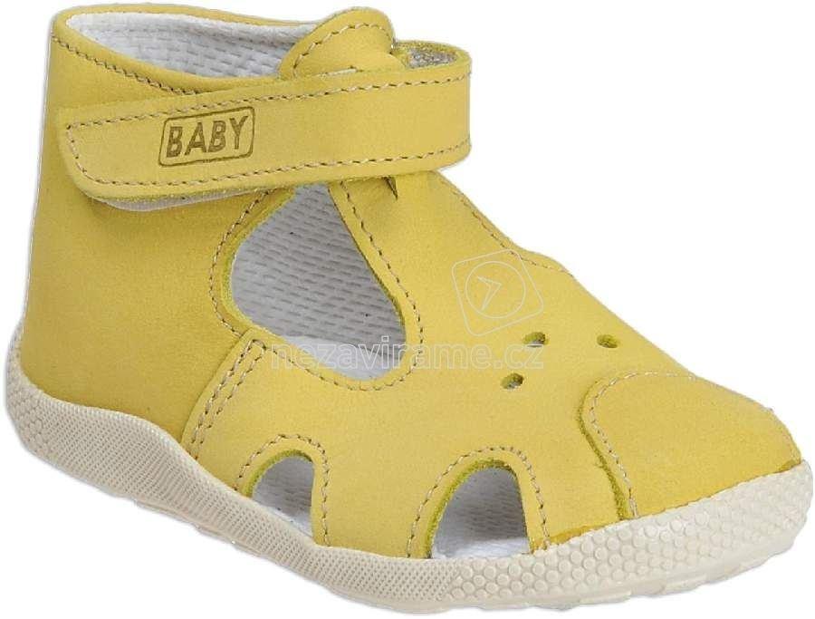 Detské capáčky Veleta 7272 026 žlutá