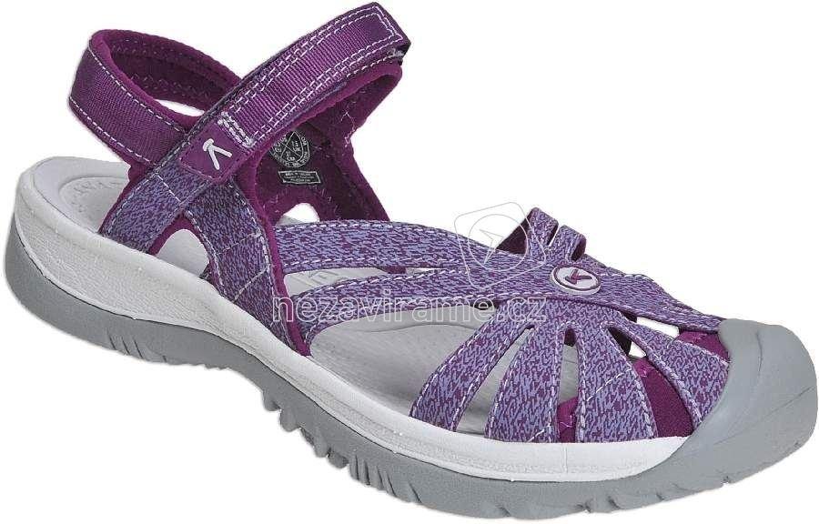 Dámské letní boty Keen Rose Sandal W dark purple/pruple sage