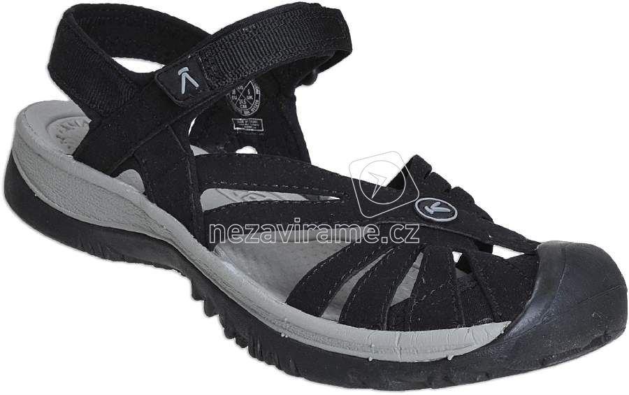 Dámské letní boty Keen Rose Sandal W black/neutral gray