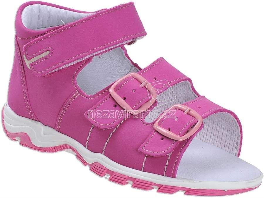 Detské letné topánky Boots4u T-213 fuxie