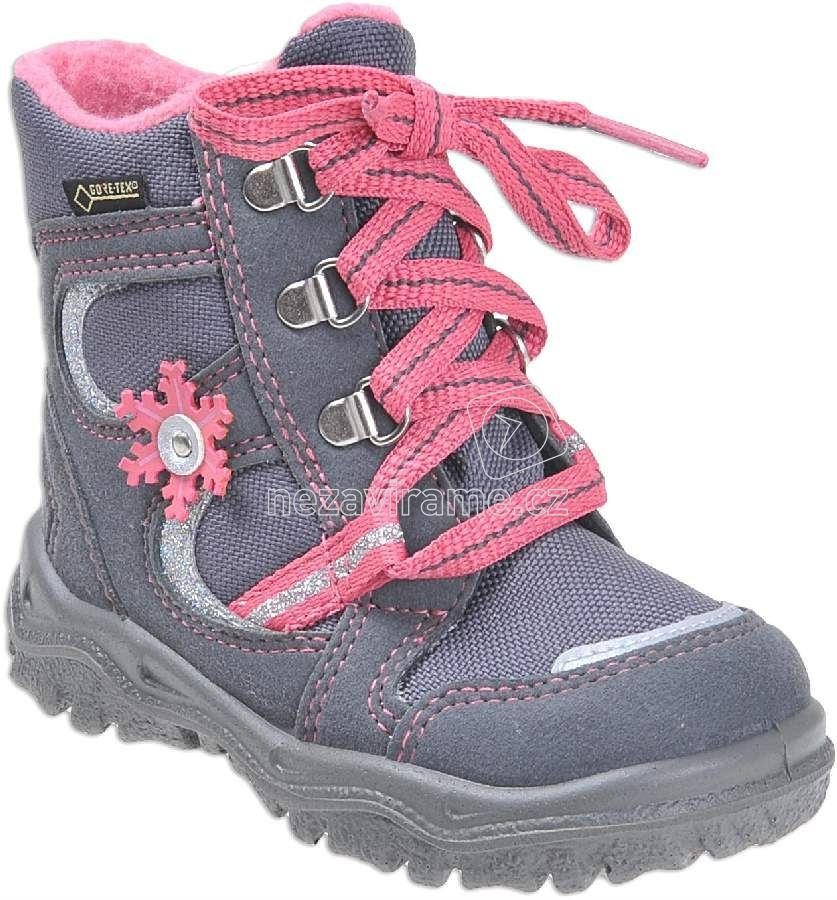 Dětské zimní boty Superfit 1-00048-06 ca11579d85