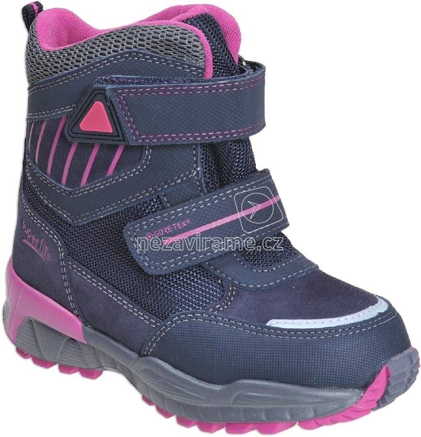 Dětské zimní boty Superfit 1-00162-82 9baac4ac1e
