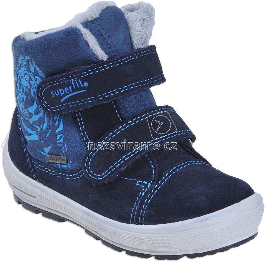 Dětské zimní boty Superfit 1-00311-81 e99069eb95