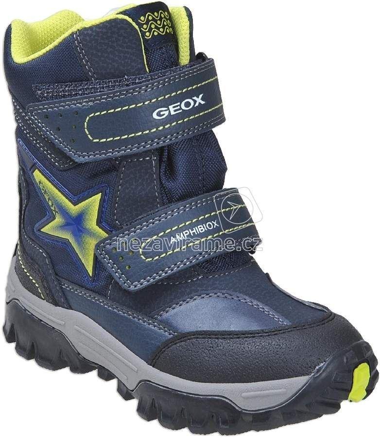 Dětské zimní boty Geox J74E5A 0FUCE C0749 212ea5af6b