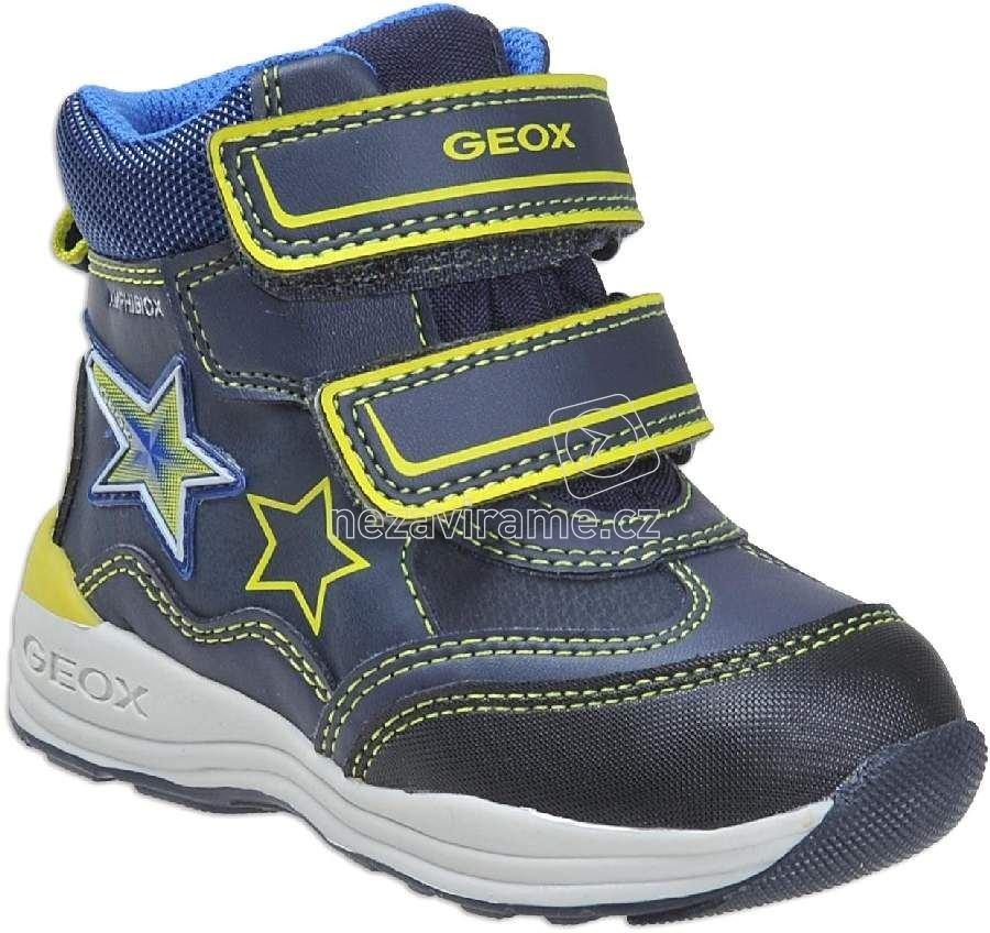 3fd3c909dde Dětské zimní boty Geox B741GC 054FU C074