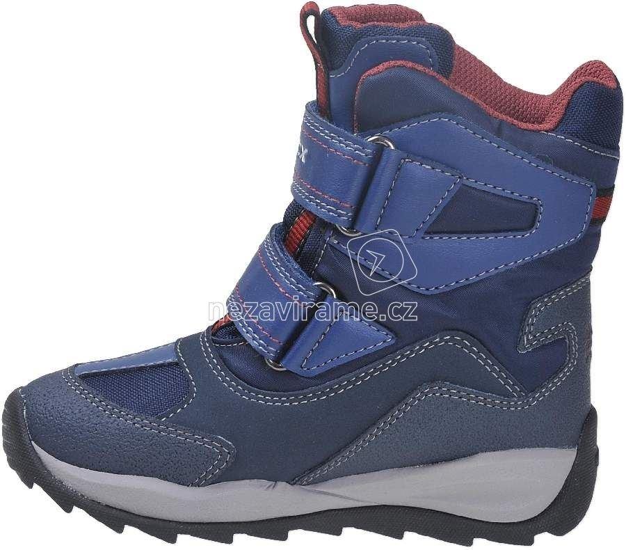d6e474993ec Dětské zimní boty Geox J740BE 0FU54 C4335