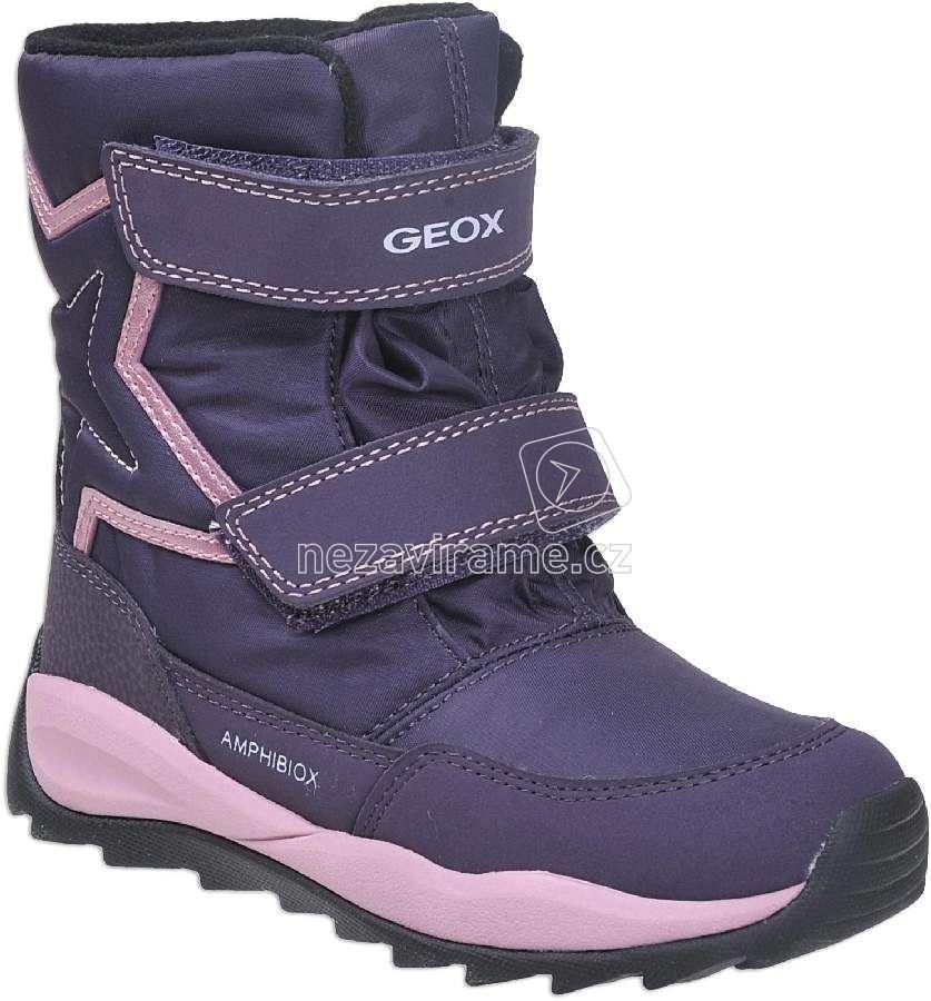 d1dba73f748 Dětské zimní boty Geox J742BA 0FU50 C8015