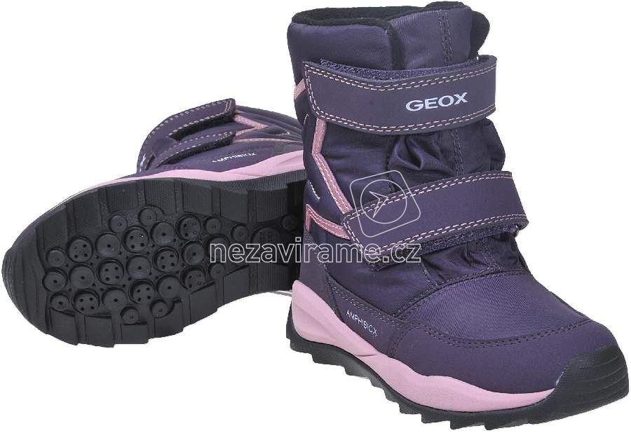 664fd247312 Dětské zimní boty Geox J742BA 0FU50 C8015