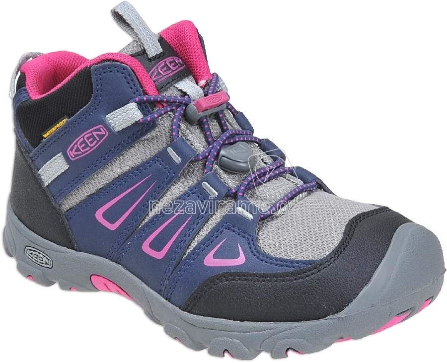 50da5742f7f9 Detské celoročné topánky Keen Oakridge dress blues very berry