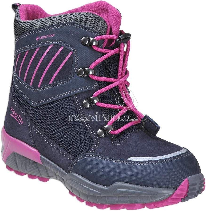 ff03b3614cb Dětské zimní boty Superfit 1-00166-81