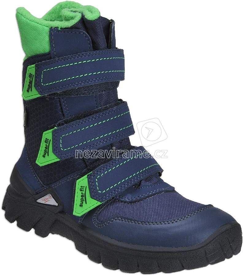 Dětské zimní boty Superfit 1-00409-81 0cf415ad6e