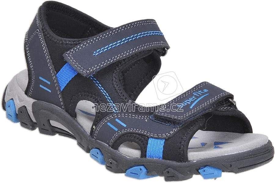 Dětské letní boty Superfit 0-00446-81 1707a11239