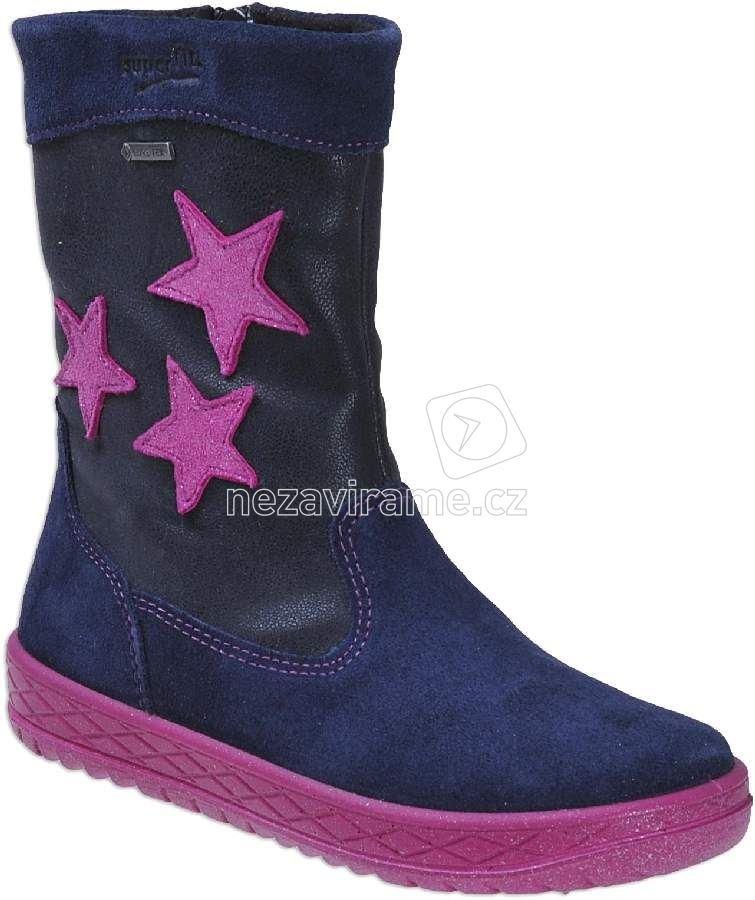 Dětské zimní boty Superfit 1-00092-81 134897f1bf