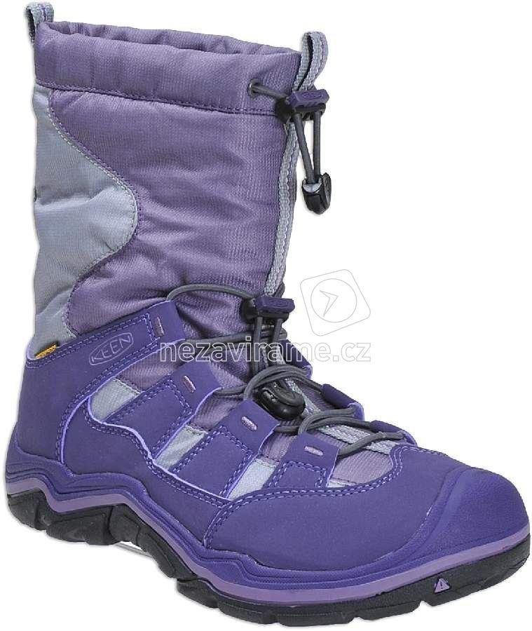 14be0246aba Dětské zimní boty Keen Winterport II plumeria alloy