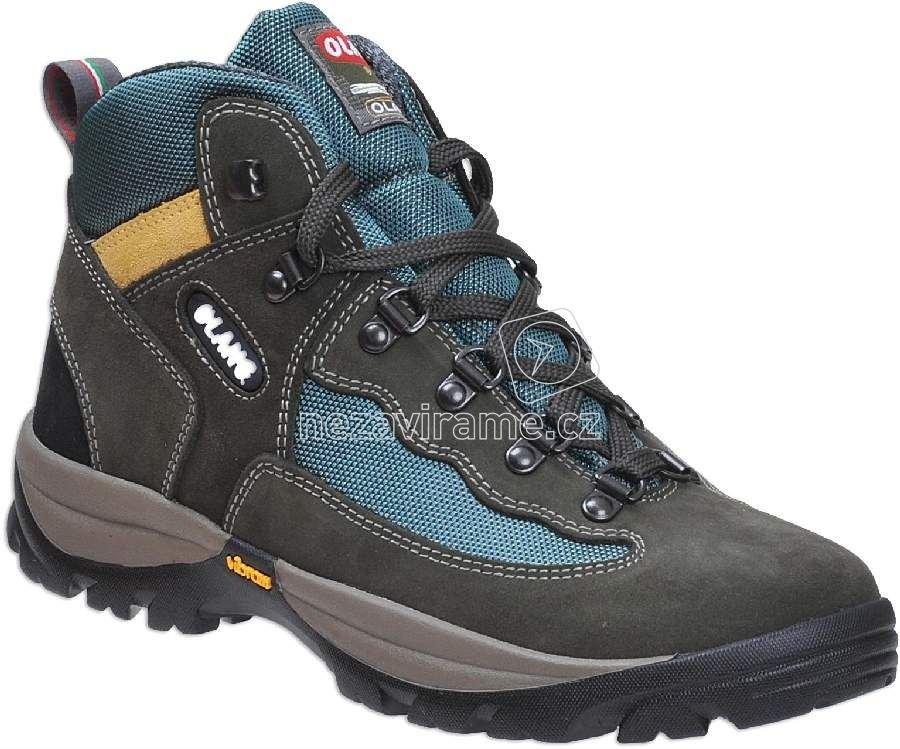Turistické topánky Olang Gottardo 834 muschio