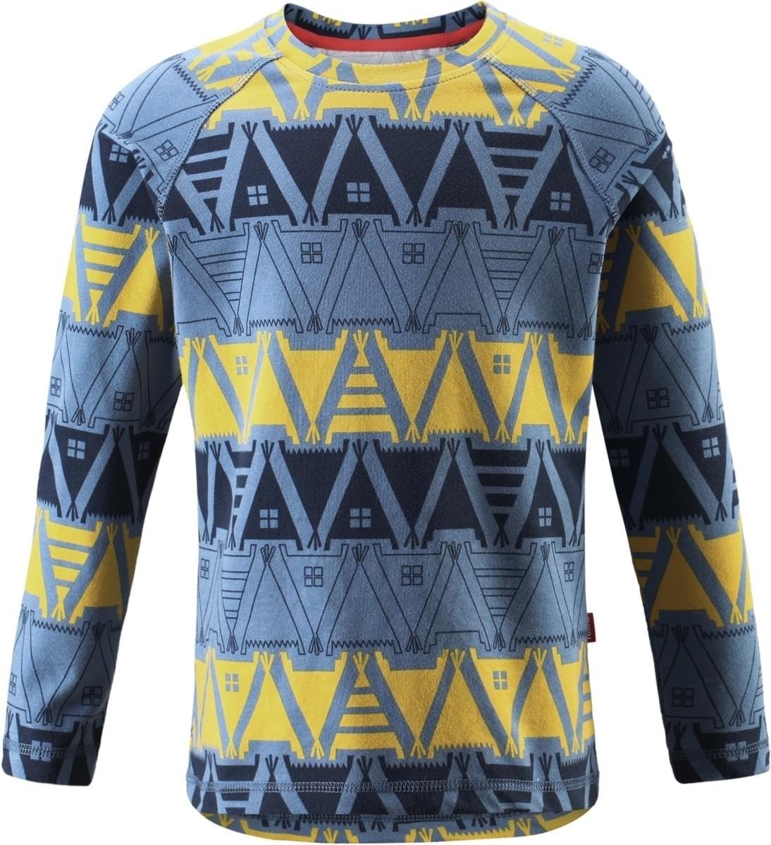 Funkční tričko Reima 536202 Tiptoe blue