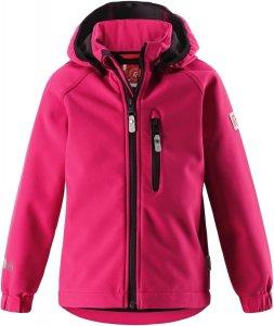 Dětská softshellová bunda Reima 521519 Vantti berry