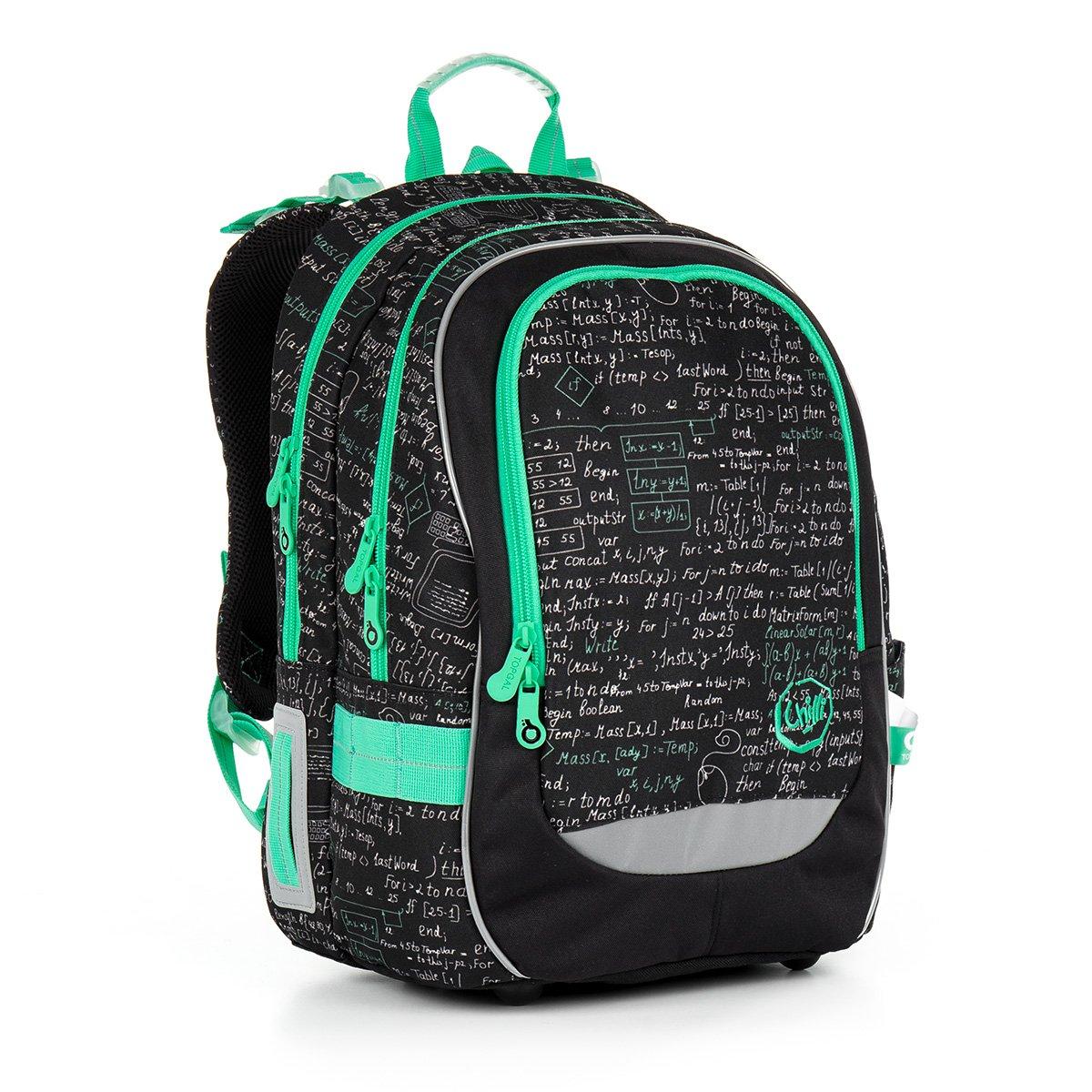 d794a520d61 Školní batoh Topgal CHI 866 A - Black