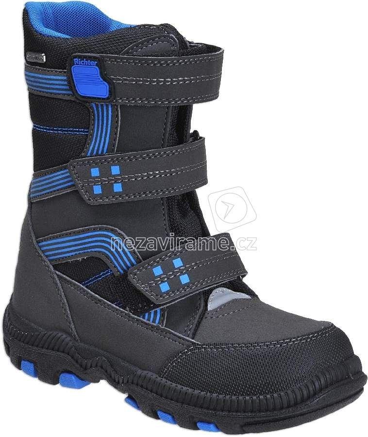 Detské zimné topánky Richter 8550.241.9902