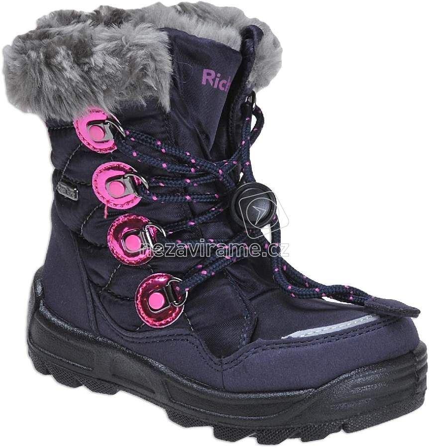 Dětské zimní boty Richter 2056.241.7201 b315ae90310