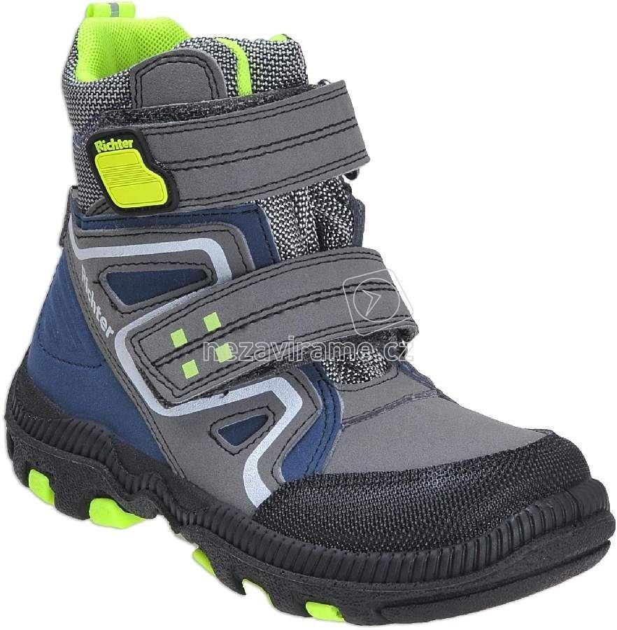Detské zimné topánky Richter 8531.241.9901