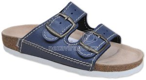 Domácí obuv Sante D 21 86 BP modry fae640cff7