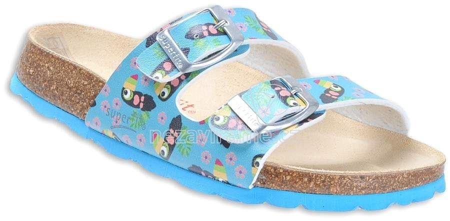 b6de7bd457bd Detské topánky na doma Superfit 2-00111-91