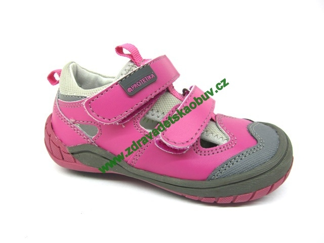 9e283404d7eb Detské celoročné topánky PROTETIKA GARS FUXIA