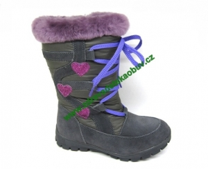 dd75a4e74658 Dětské celoroční boty PROTETIKA RETA