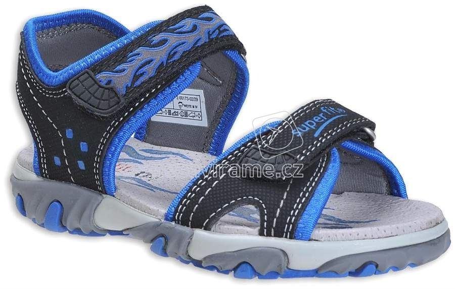8c0eee19871 Dětské letní boty Superfit 2-00173-02