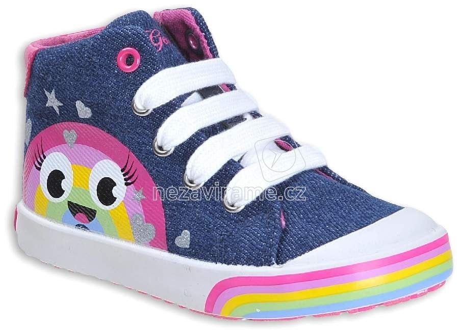 Dětské celoroční boty Geox B82D5B 013AJ C4435  9e33d05935