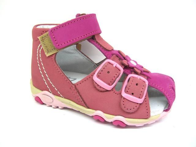 Nyári gyerekcipő Sázavan Product S3040 rózsaszín