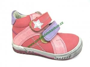 Detské celoročné topánky Sázavan Product S1602 RUZOVA