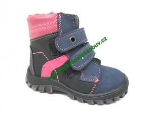 Detské zimné topánky Sázavan Product S1608 RUŽOVA