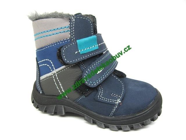 Detské zimné topánky Sázavan Product S1637 MODRA
