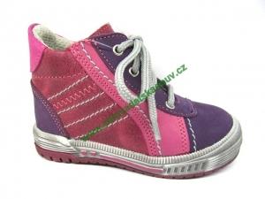 Detské celoročné topánky Sázavan Product S1663 FIALOVA