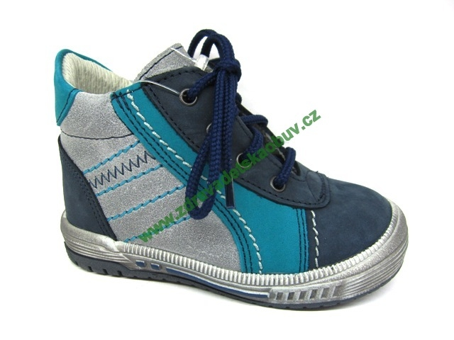 Detské celoročné topánky Sázavan Product S1663 TYRKYS