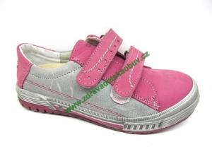 Detské celoročné topánky Sázavan Product S1682 CYKLAMEN