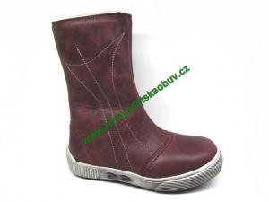 Téli gyerekcipő Sázavan Product S1695 BORDO