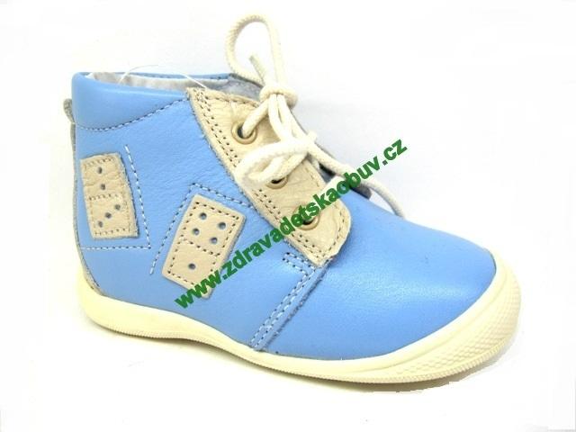 Detské celoročné topánky Sázavan Product S2011 MODRA