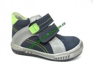 Detské celoročné topánky Sázavan Product S2602 Modrá