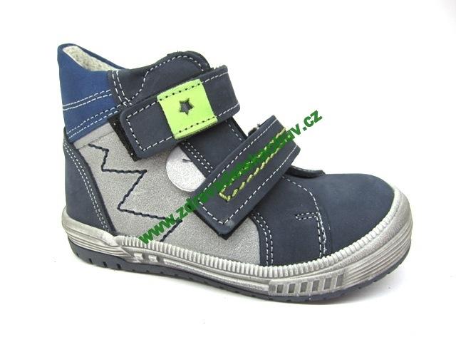 Detské celoročné topánky Sázavan Product S2646 Modrá