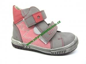 Detské celoročné topánky Sázavan Product S2646 Ružová