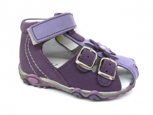 Detské letné topánky Sázavan Product S3040 FIALOVA