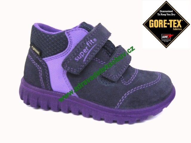 2ed217701eb8 Detské celoročné topánky Superfit 1-00193-81